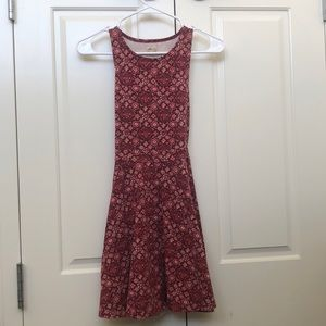 Hollister Pink Floral Dress